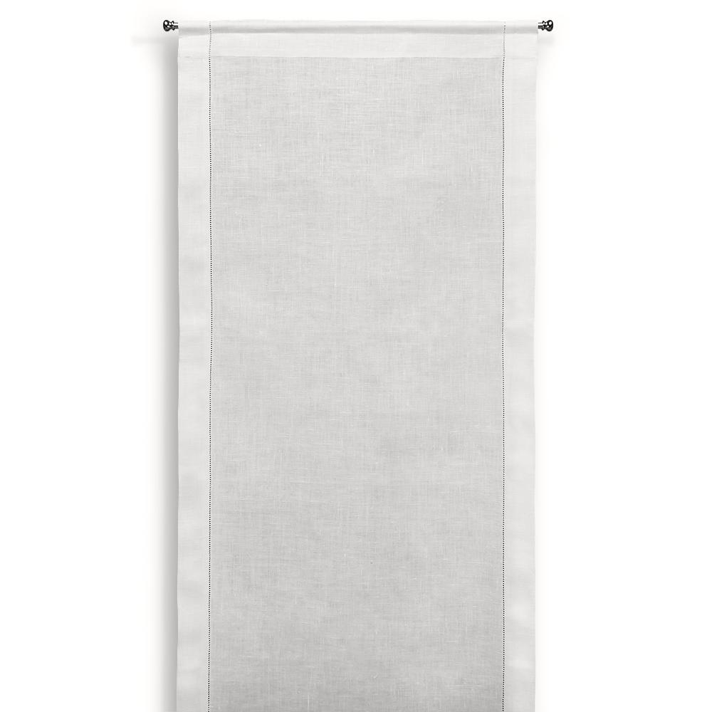 Tende bianche a vetro idee di immagini di casamia for Idee tende a vetro