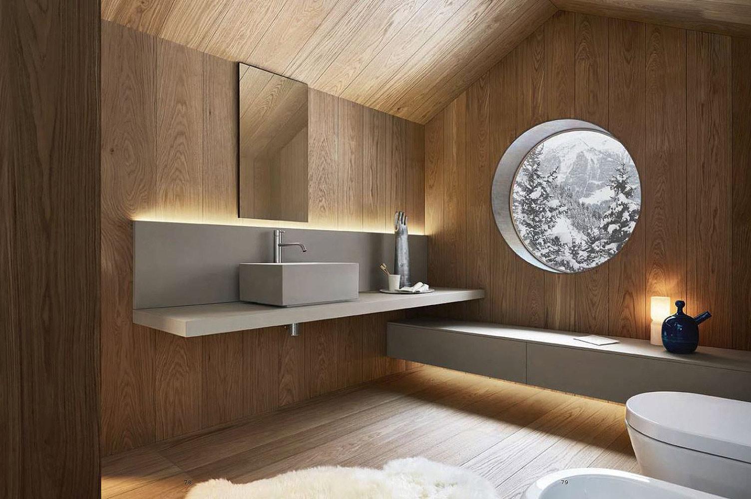 Set asciugamani e teli bagno per realizzazione Catalogo bagni Noorth - Cuore di lino